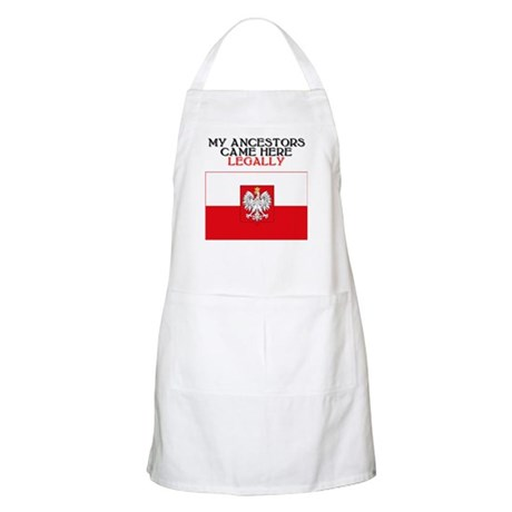Polish Heritage BBQ Apron