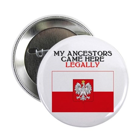 Polish Heritage 2.25&quot; Button (10 pack)