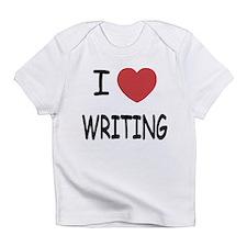 i heart writing Infant T-Shirt