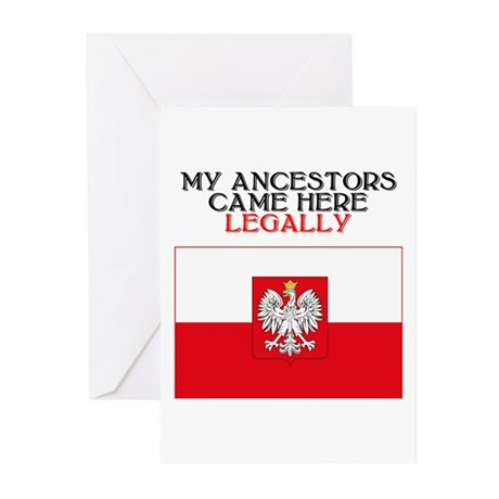 Polish Heritage Greeting Cards (Pk of 10)