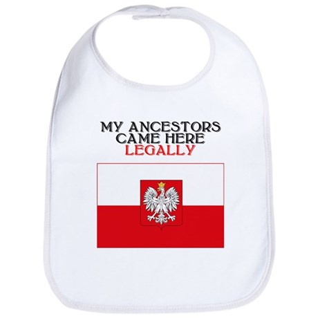 Polish Heritage Bib