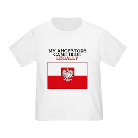 Polish Heritage Toddler T-Shirt