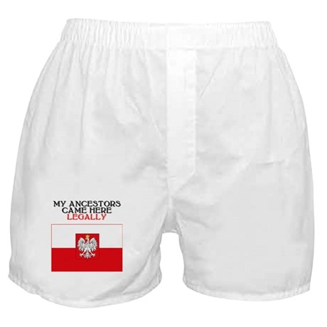 Polish Heritage Boxer Shorts