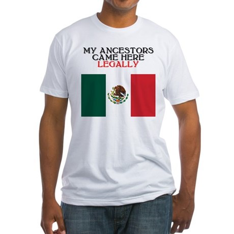 Mexican Heritage Fitted T-Shirt