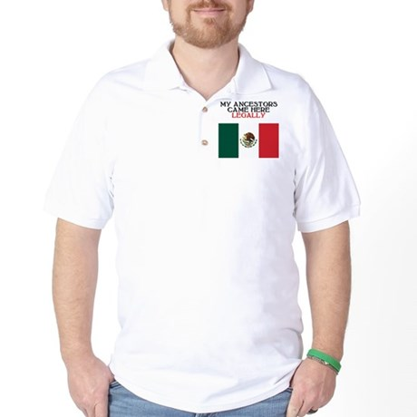 Mexican Heritage Golf Shirt