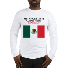 Mexican Heritage Long Sleeve T-Shirt