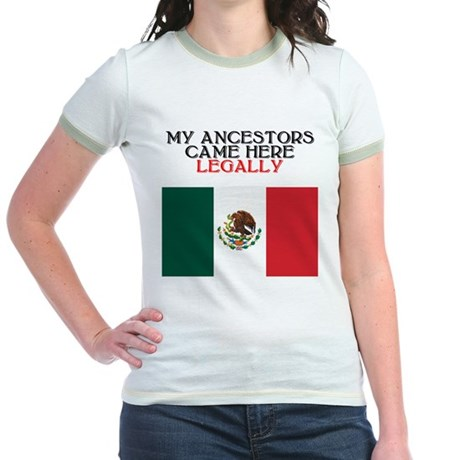 Mexican Heritage Jr. Ringer T-Shirt