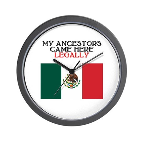 Mexican Heritage Wall Clock