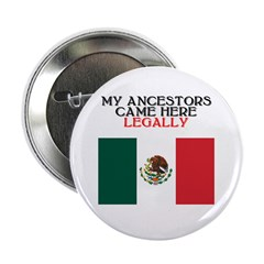 "Mexican Heritage 2.25"" Button (10 pack)"
