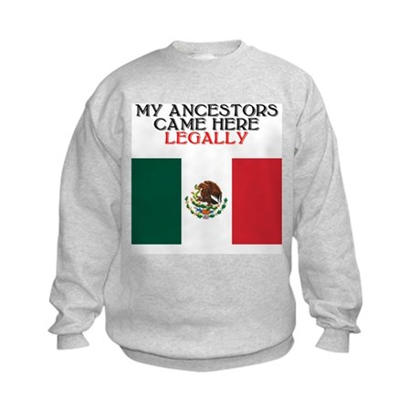 Mexican Heritage Kids Sweatshirt