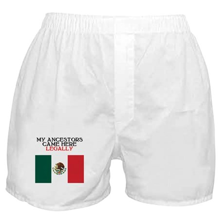 Mexican Heritage Boxer Shorts