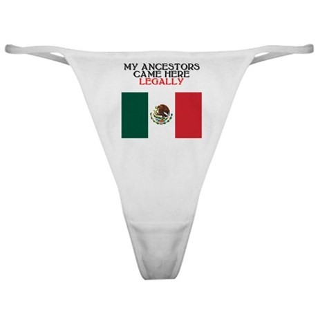 Mexican Heritage Classic Thong