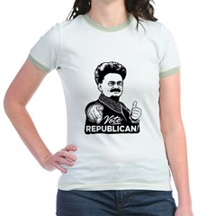 Trotsky Vote Republican Jr. Ringer T-Shirt