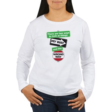 my way Women's Long Sleeve T-Shirt
