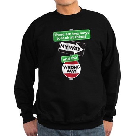 my way Sweatshirt (dark)