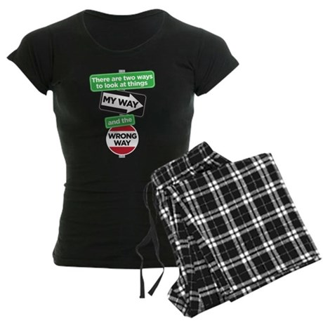 my way Women's Dark Pajamas