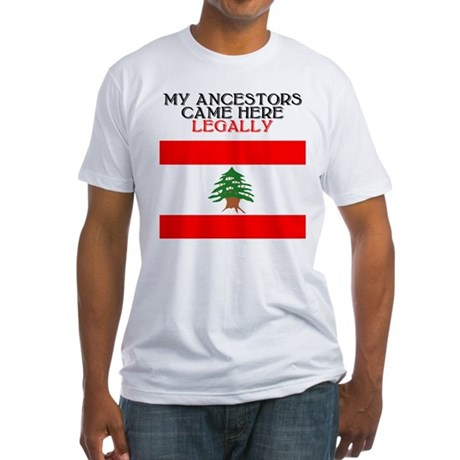 Lebanese Heritage Fitted T-Shirt