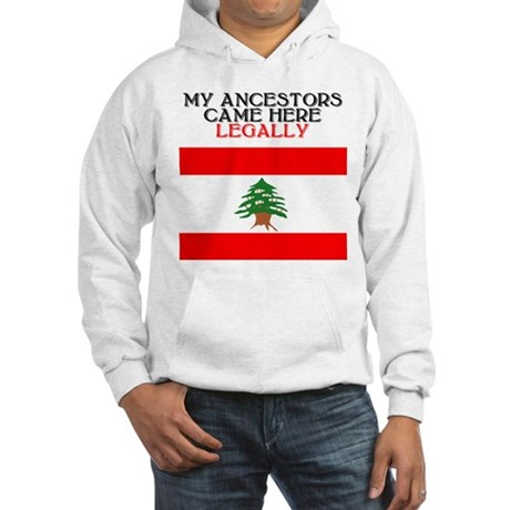 Lebanese Heritage Hooded Sweatshirt