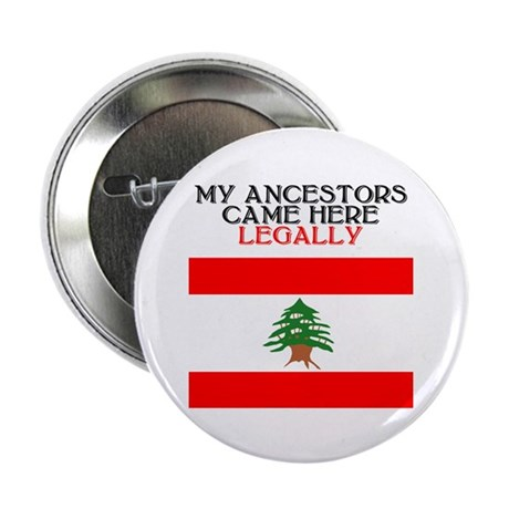"Lebanese Heritage 2.25"" Button (10 pack)"