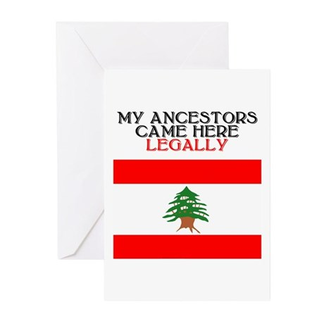 Lebanese Heritage Greeting Cards (Pk of 10)