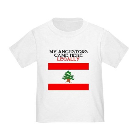 Lebanese Heritage Toddler T-Shirt