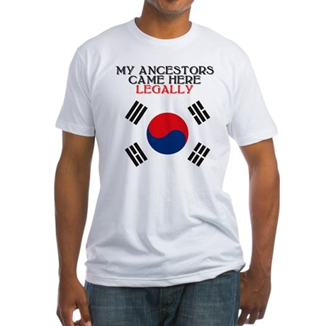Korean Heritage Fitted T-Shirt