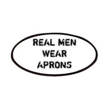 Real Men Wear Aprons Patches