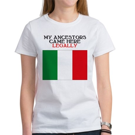 Italian Heritage Women's T-Shirt