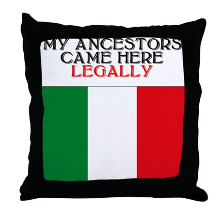 Italian Heritage Throw Pillow