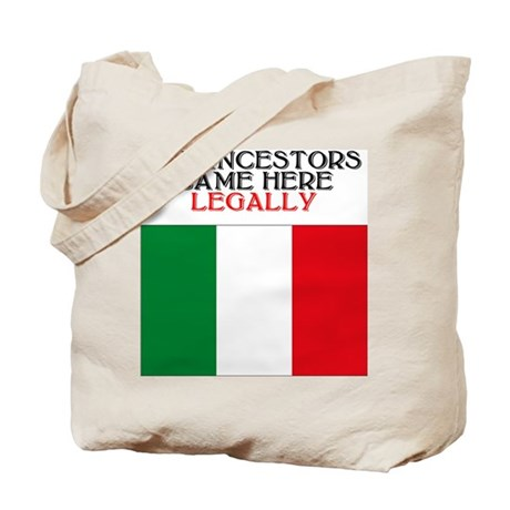 Italian Heritage Tote Bag
