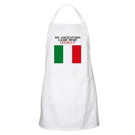 Italian Heritage BBQ Apron