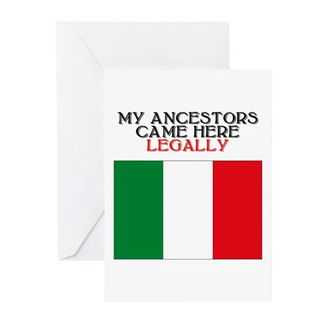 Italian Heritage Greeting Cards (Pk of 10)
