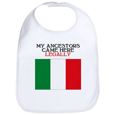 Italian Heritage Bib