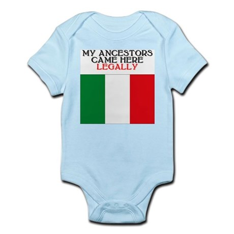 Italian Heritage Infant Creeper