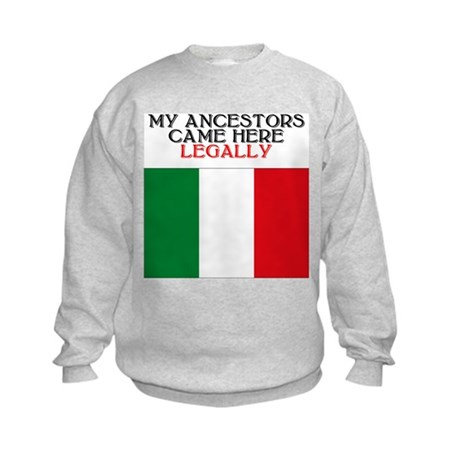 Italian Heritage Kids Sweatshirt