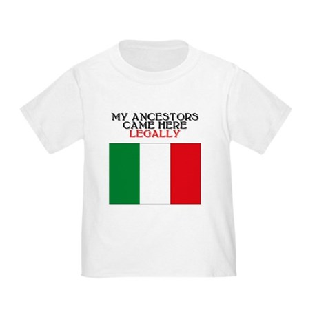 Italian Heritage Toddler T-Shirt