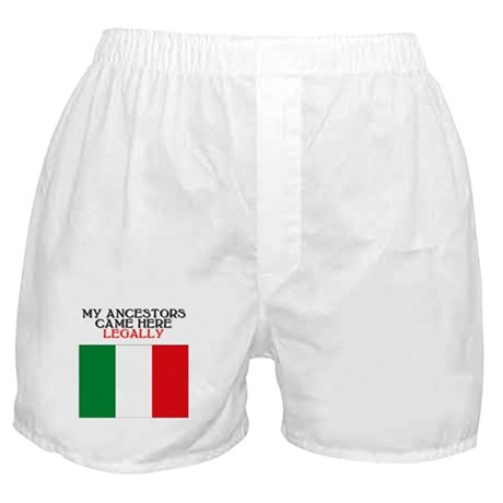Italian Heritage Boxer Shorts