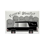 Funeral Director/Mortician Rectangle Magnet