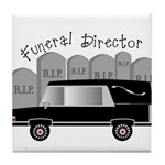 Funeral Director/Mortician Tile Coaster