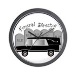 Funeral Director/Mortician Wall Clock