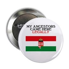 "Hungarian Heritage 2.25"" Button (10 pack)"