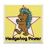 Hedgehog Power Tile Coaster
