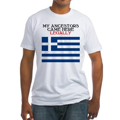 Greek Heritage Fitted T-Shirt
