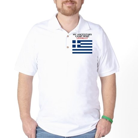 Greek Heritage Golf Shirt