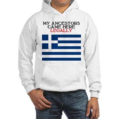 Greek Heritage Hooded Sweatshirt