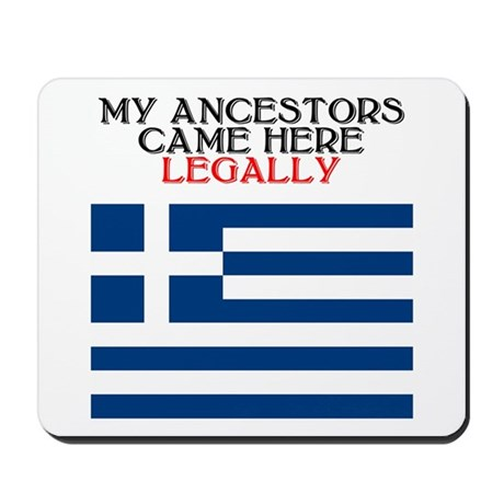 Greek Heritage Mousepad