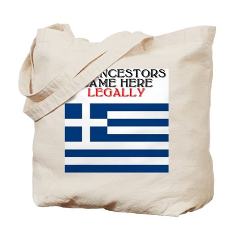 Greek Heritage Tote Bag