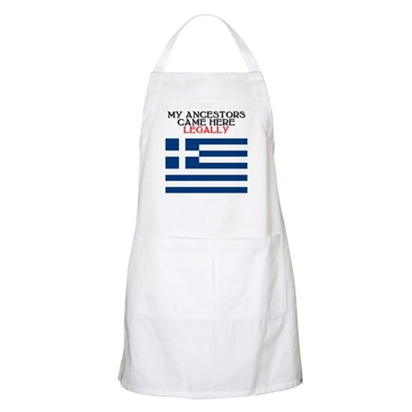 Greek Heritage BBQ Apron
