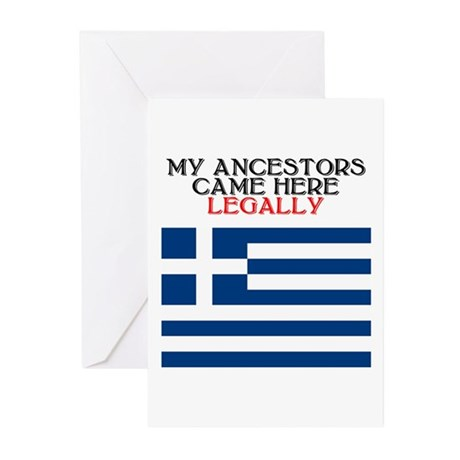 Greek Heritage Greeting Cards (Pk of 10)