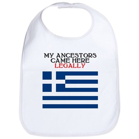 Greek Heritage Bib